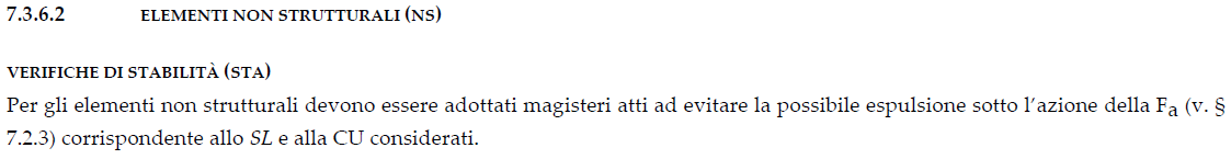 §7.3.6.2 DM2018 - Definizione delle verifiche di stabilità