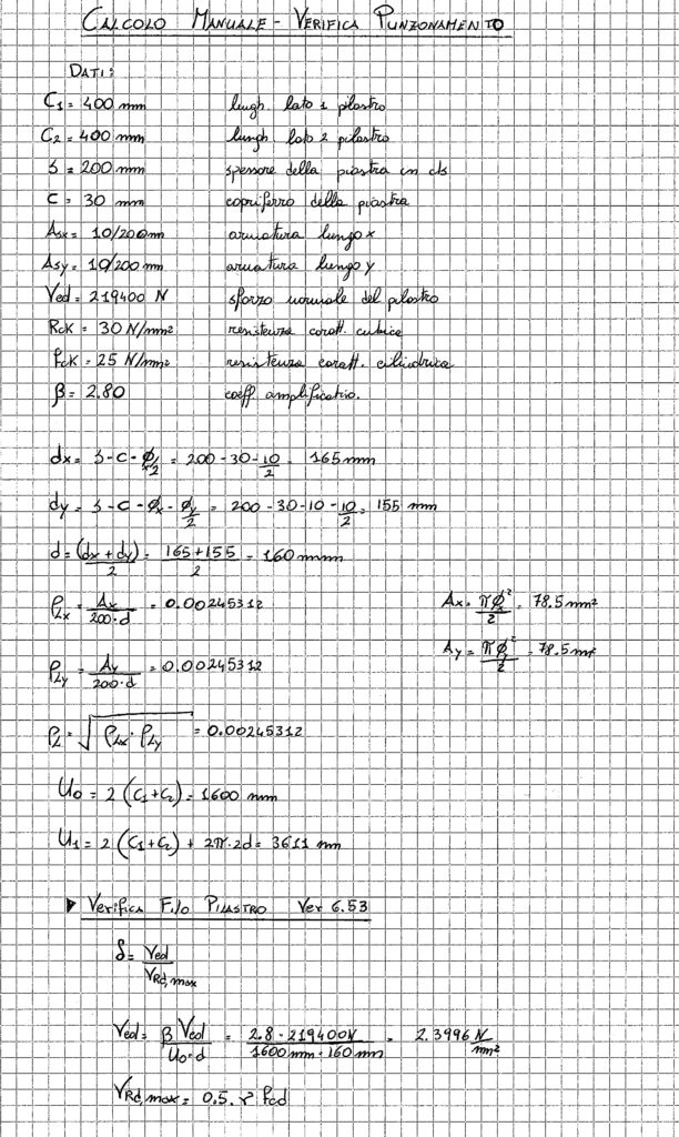Calcoli manuali, pag 1