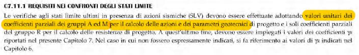 C7.11.1 Requisiti nei confronti degli stati limite