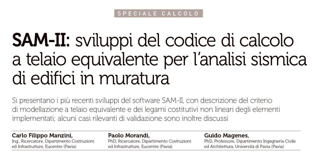 Articolo SAM II