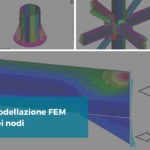 Modello FEM nodi acciaio