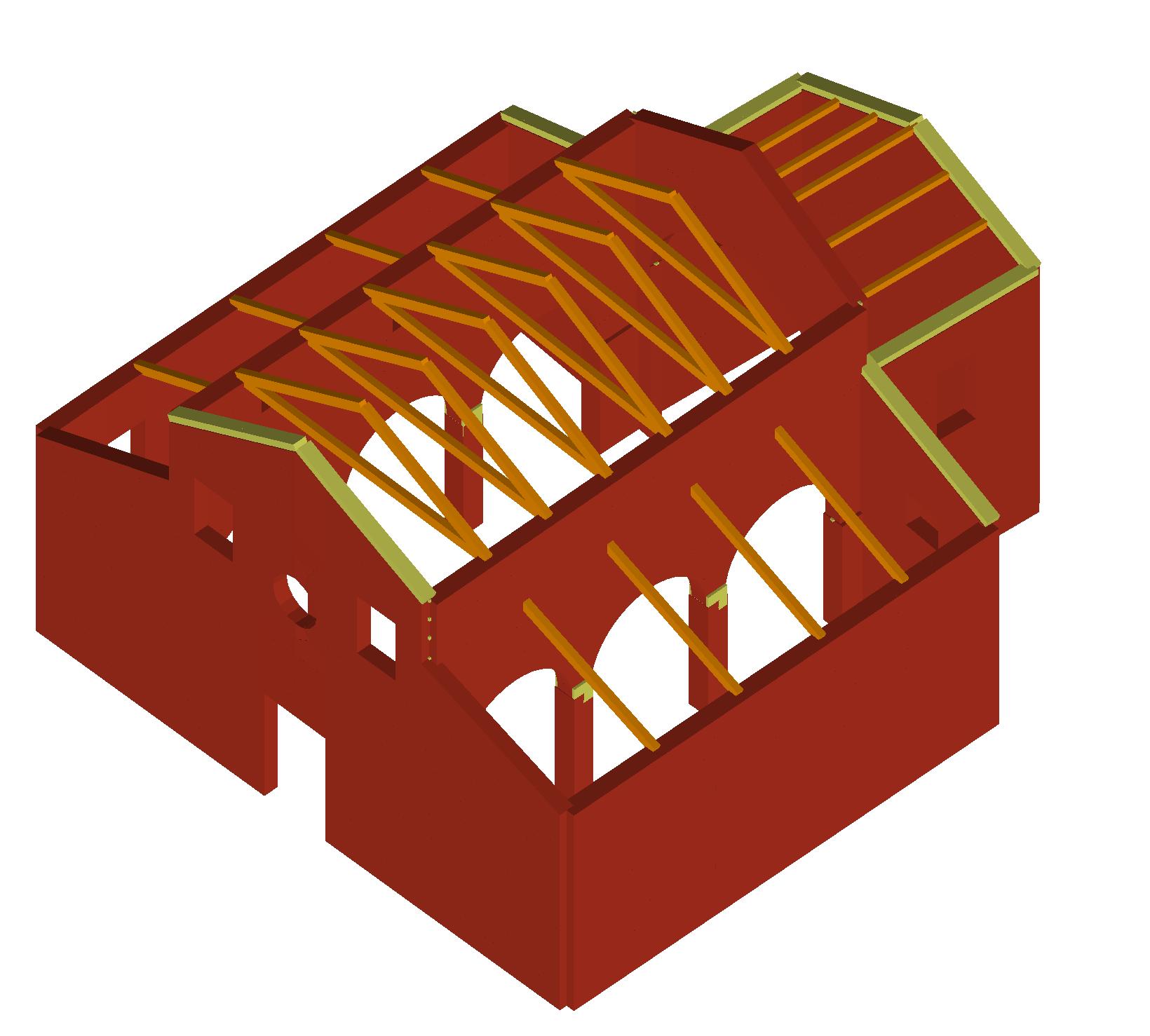 Vista solida modello di calcolo