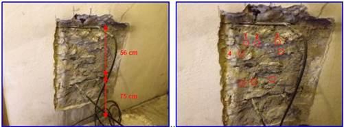 martinetti piatti per la definizione della resistenza a compressione della muratura