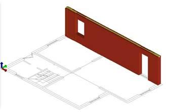 Fig. 5 Elementi costituenti il modello a telaio equivalenti