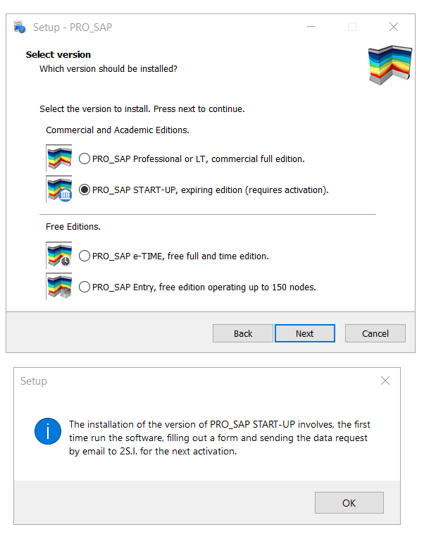 PRO_SAP setup